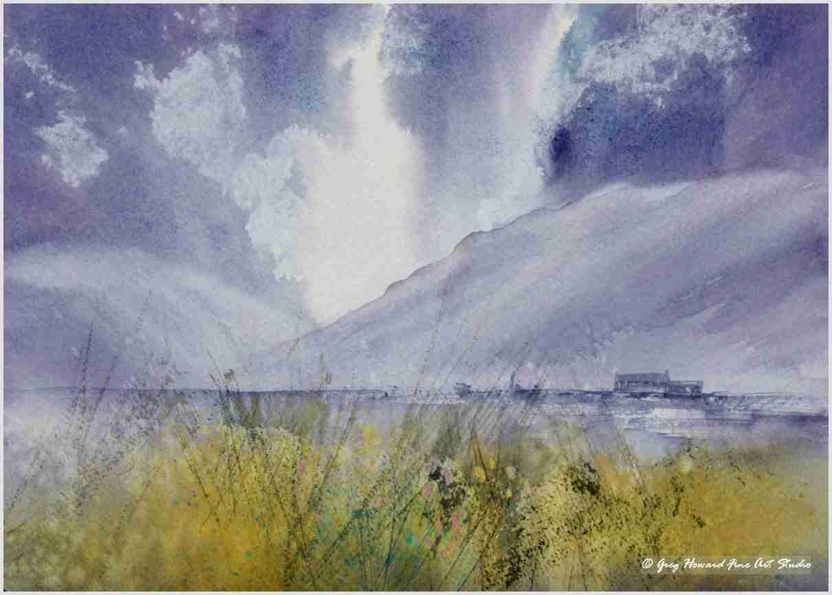 Across The Marshes III