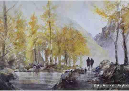Autumn At The Tarn I