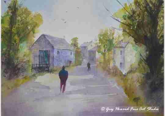 Country Lane I