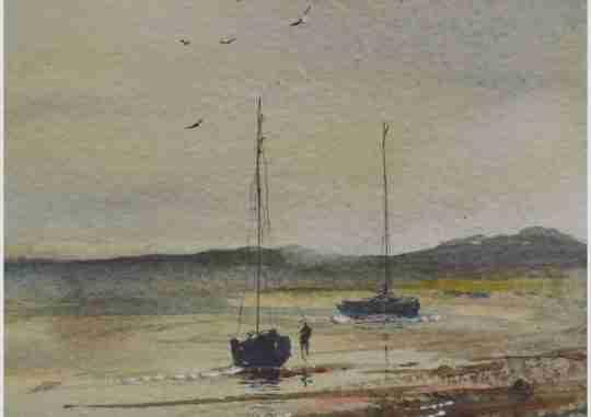 Dusk On The Estuary I
