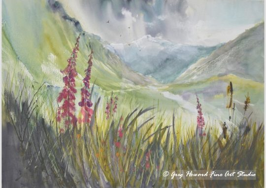 Foxgloves In Langstrath III