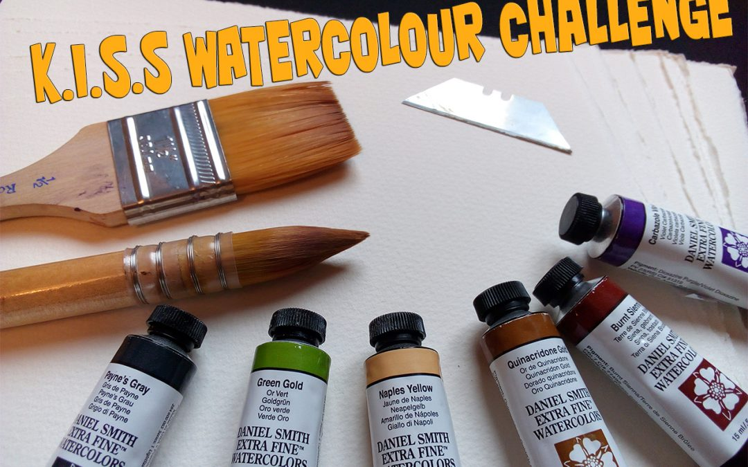 Try the K.I.S.S Watercolour Challenge!