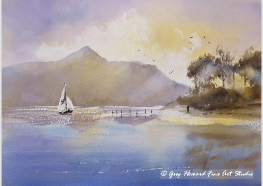 Late Afternoon On Derwent Water