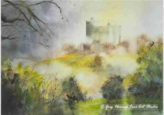 Misty Morning Bolsover Castle