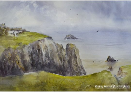 On The Cliffs II