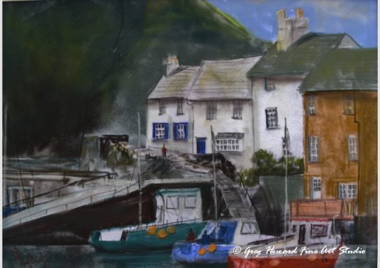 Polperro Harbour Cornwall