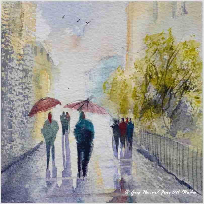 Rainy Day In The City II
