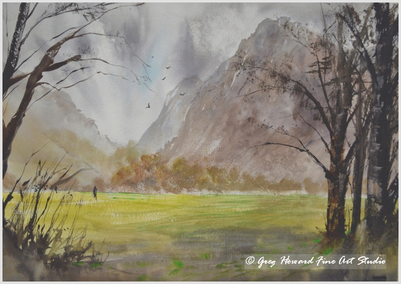 Windy Day In Buttermere VI