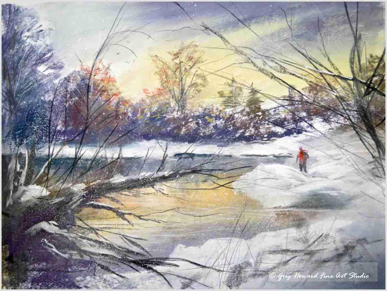 Winter At The Tarn II