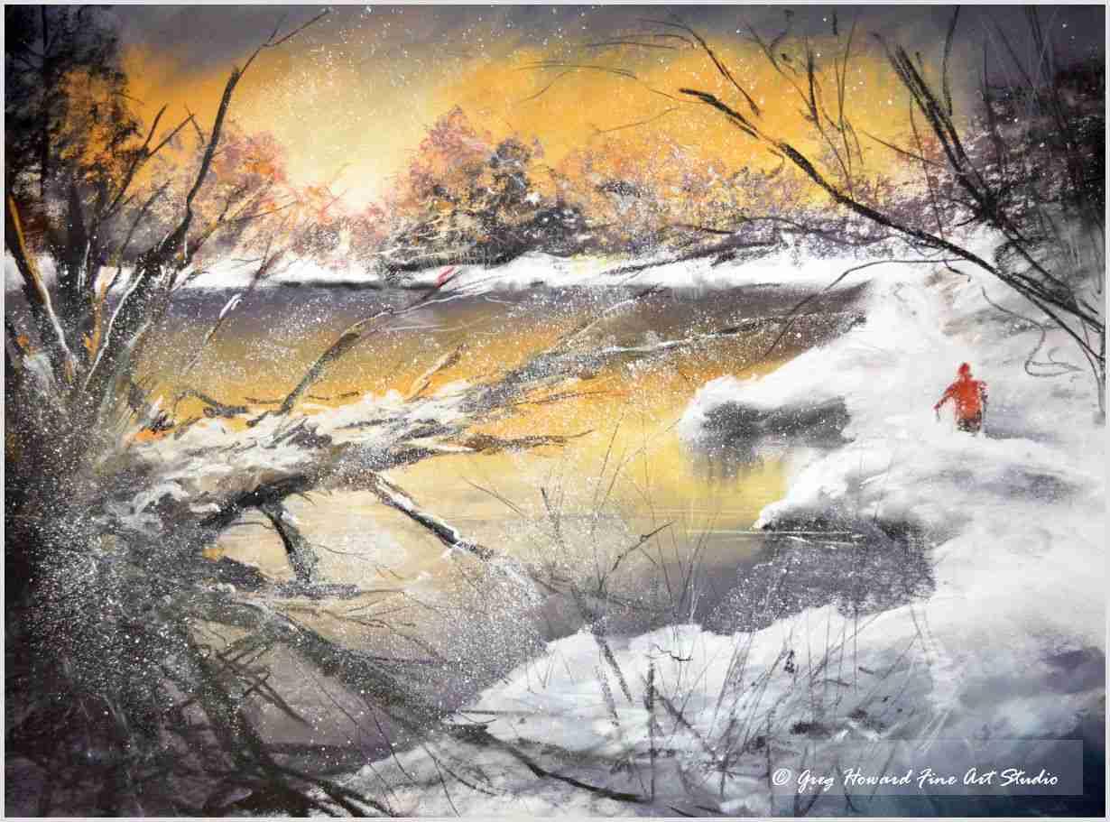 Winter At The Tarn III