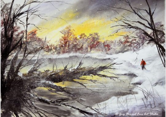 Winter At The Tarn IV